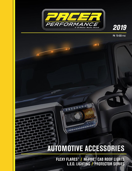 Pacer 2019 catalog cover 2